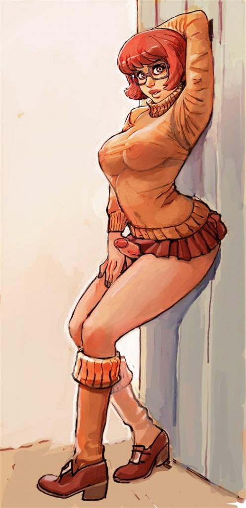 Cartoon Futanari Porn Velma