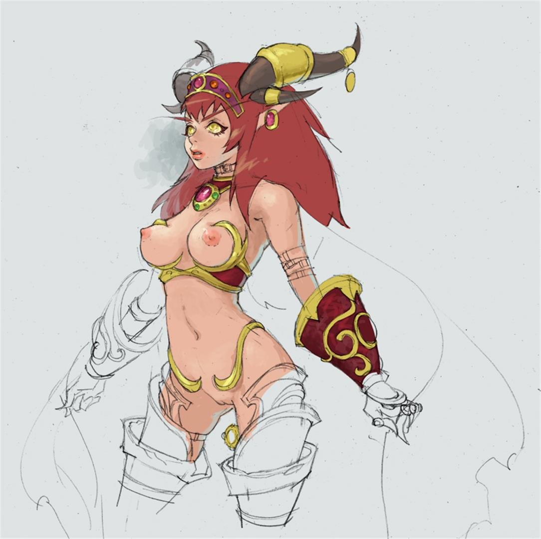 World of Warcraft Alexstrasza Rule 34