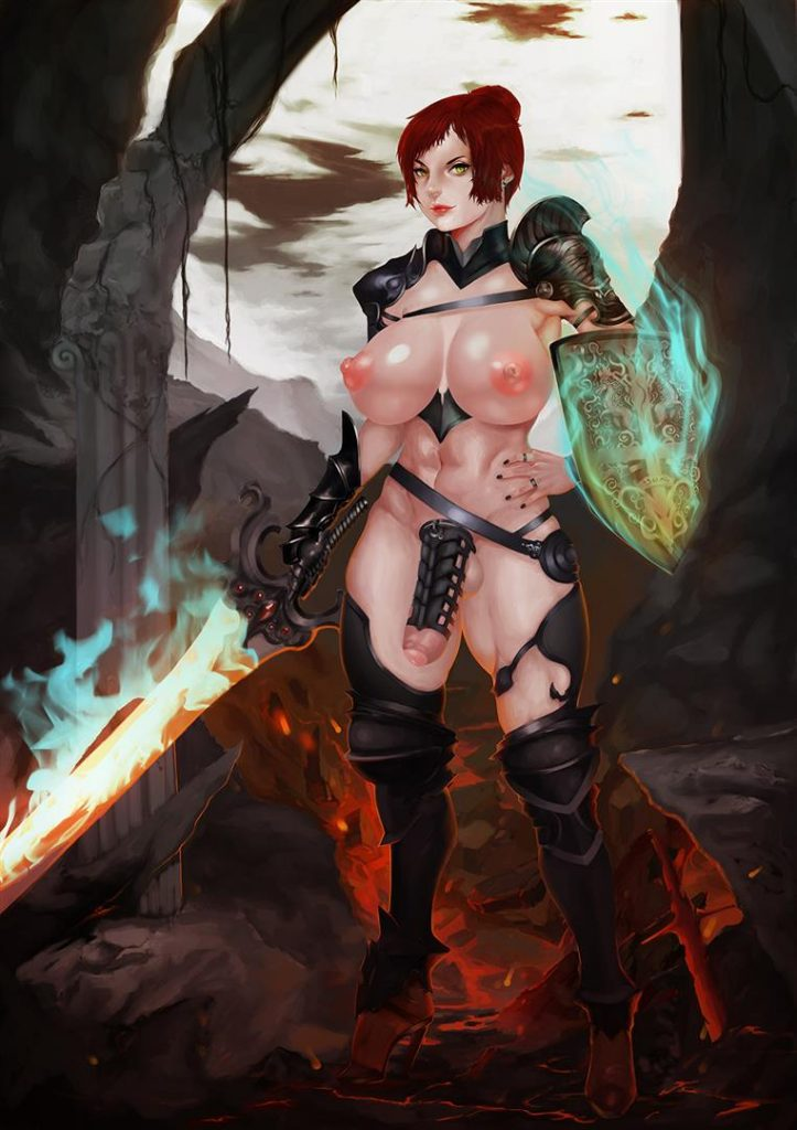Futanari Warrior Armor