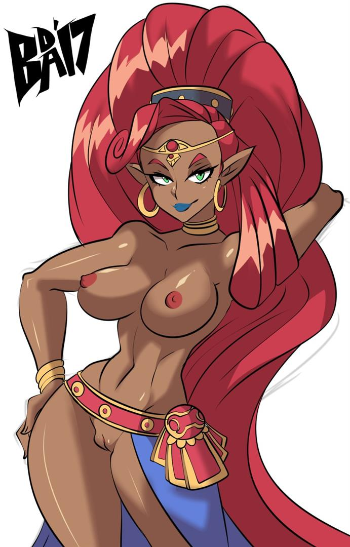 Gerudo girl posing naked