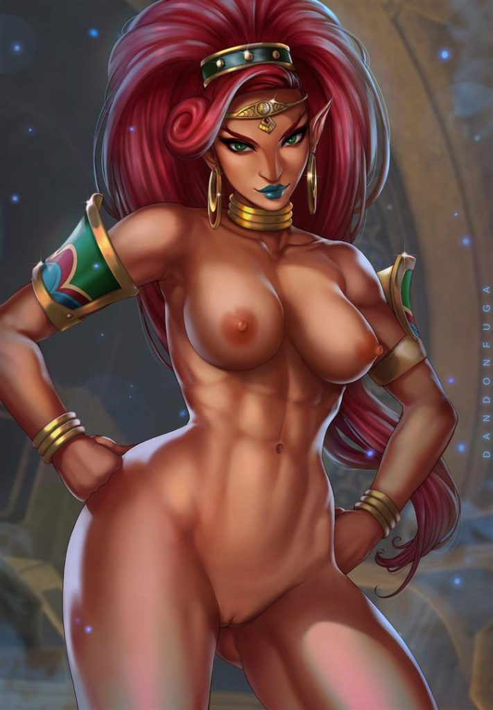 Fit gerudo woman naked