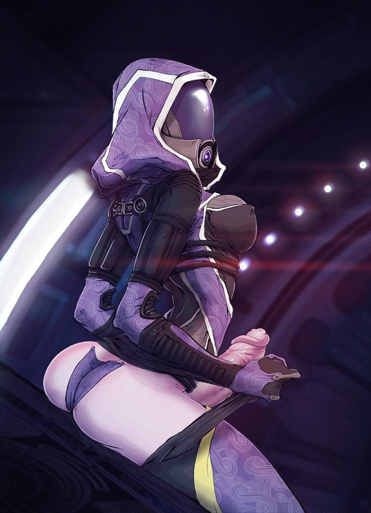 Mass effect Tali Futanari Rule 34
