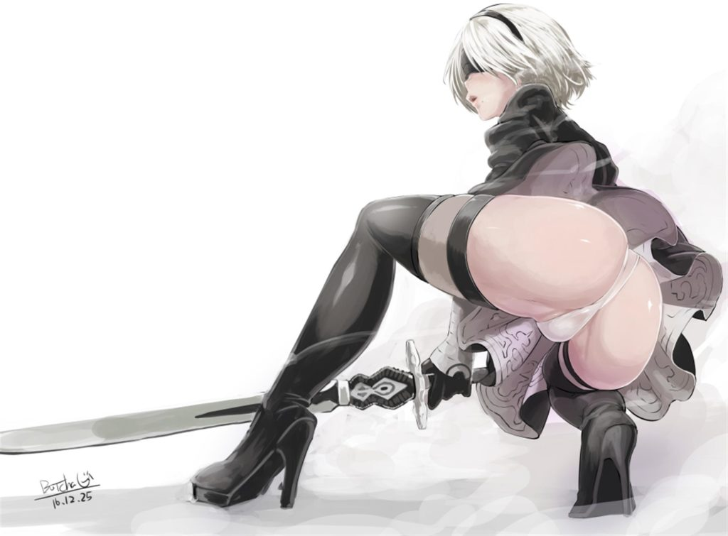 2B upskirt panties ass butt