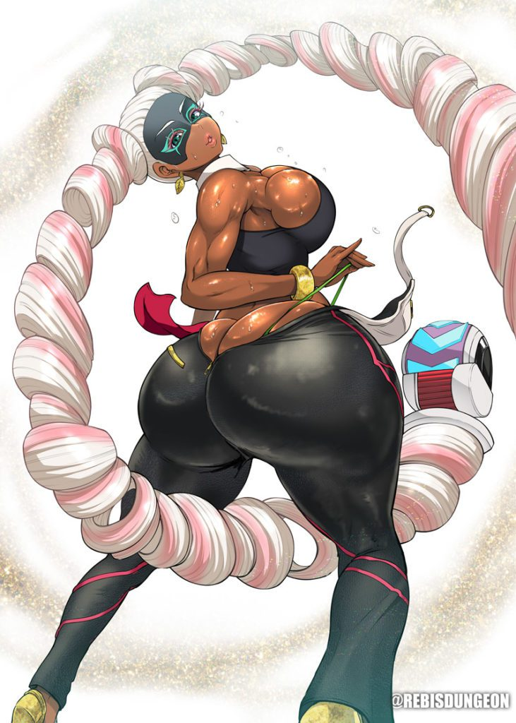 Twintelle muscles and huge ass