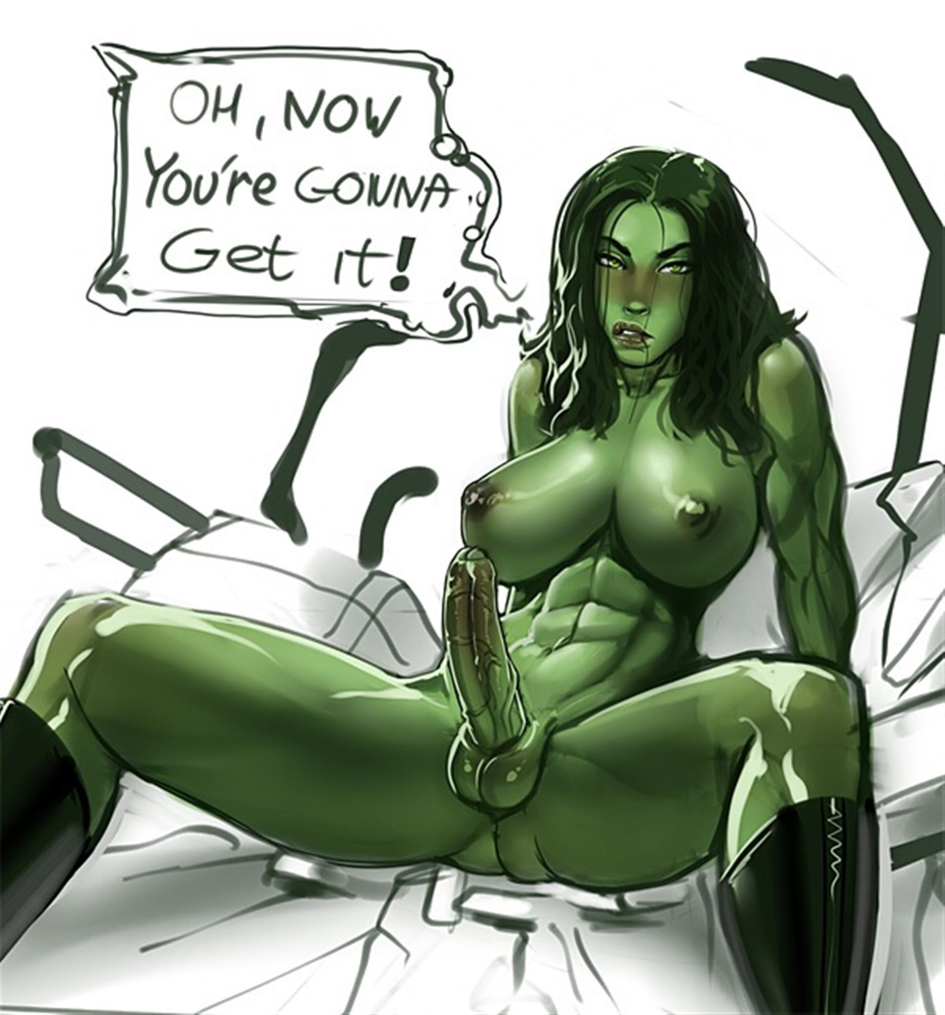 She-Hulk about to fuck you