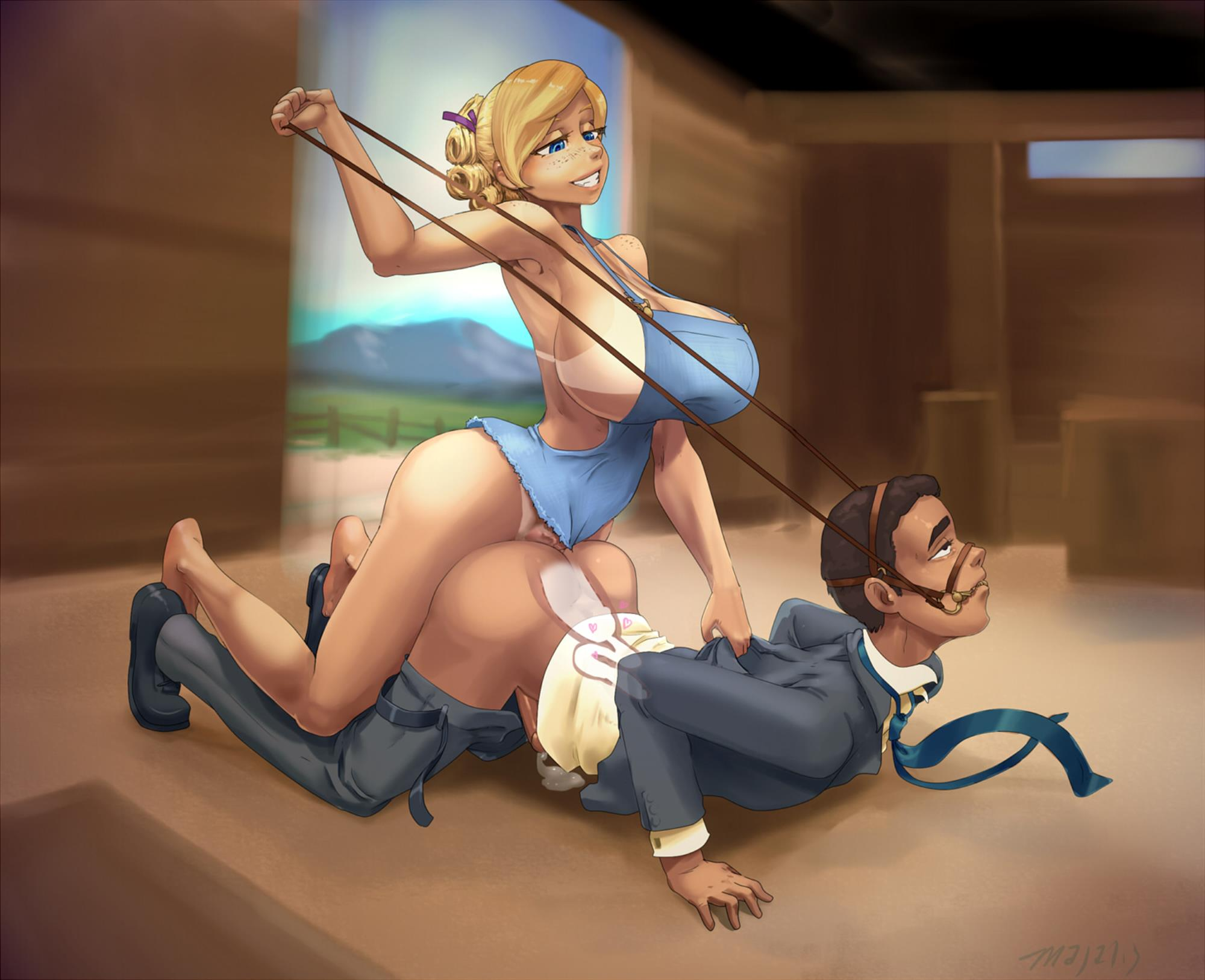 futa on male | Futapo!