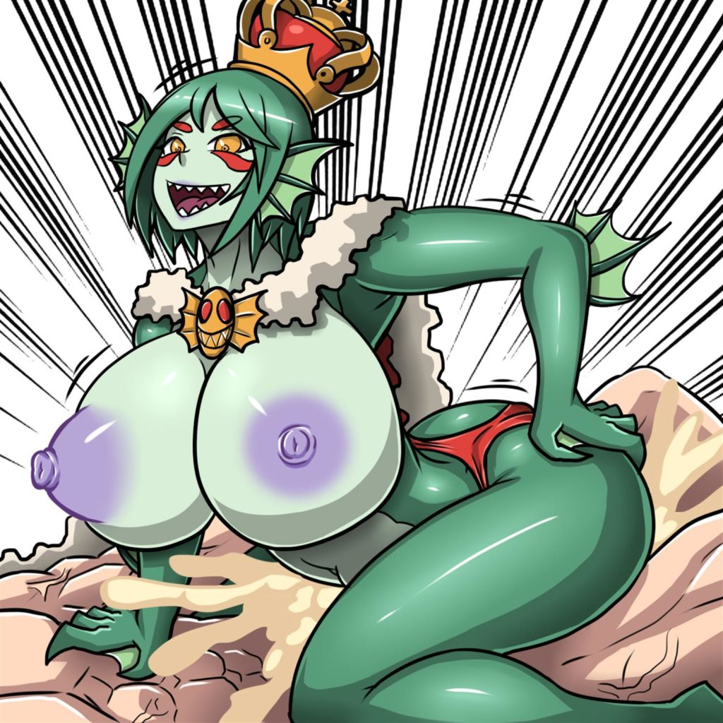 Sea Queen riding a dick