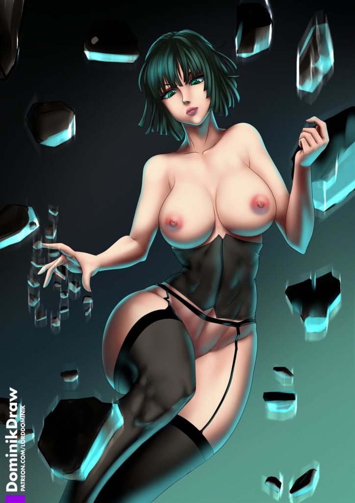 Fubuki with abs and lingerie