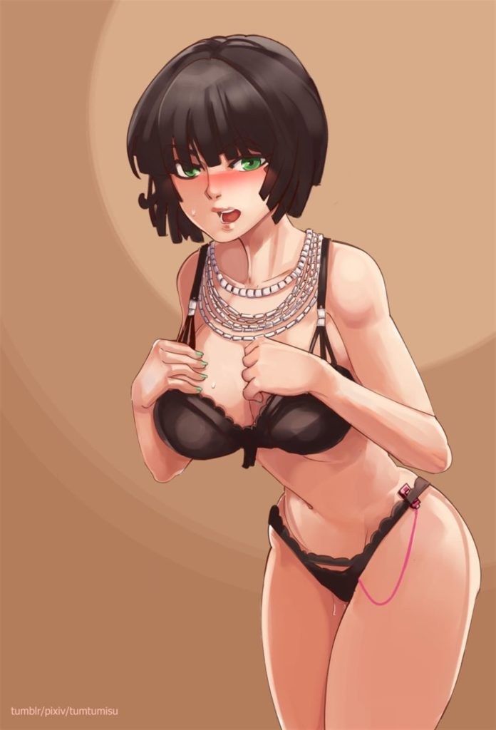 Fubuki has a vibrator in her panties