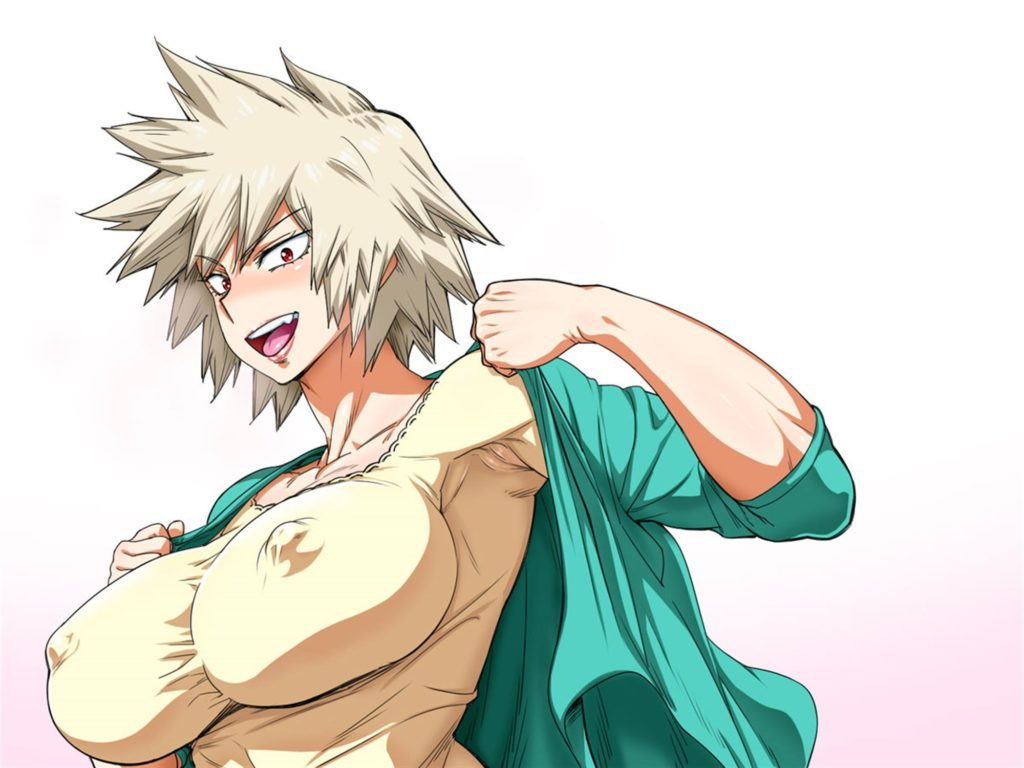 Mitsuki has huge nipples poking trough her dress