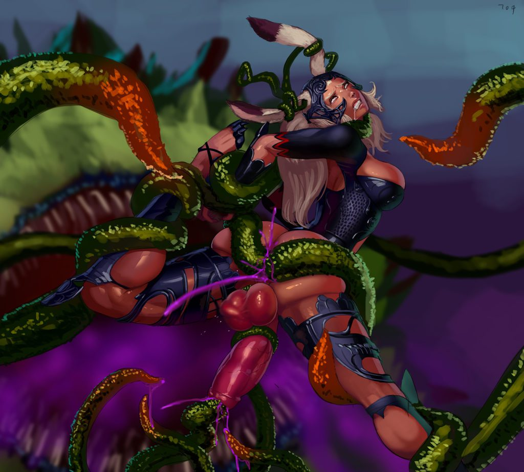 Fran getting the tentacle rape
