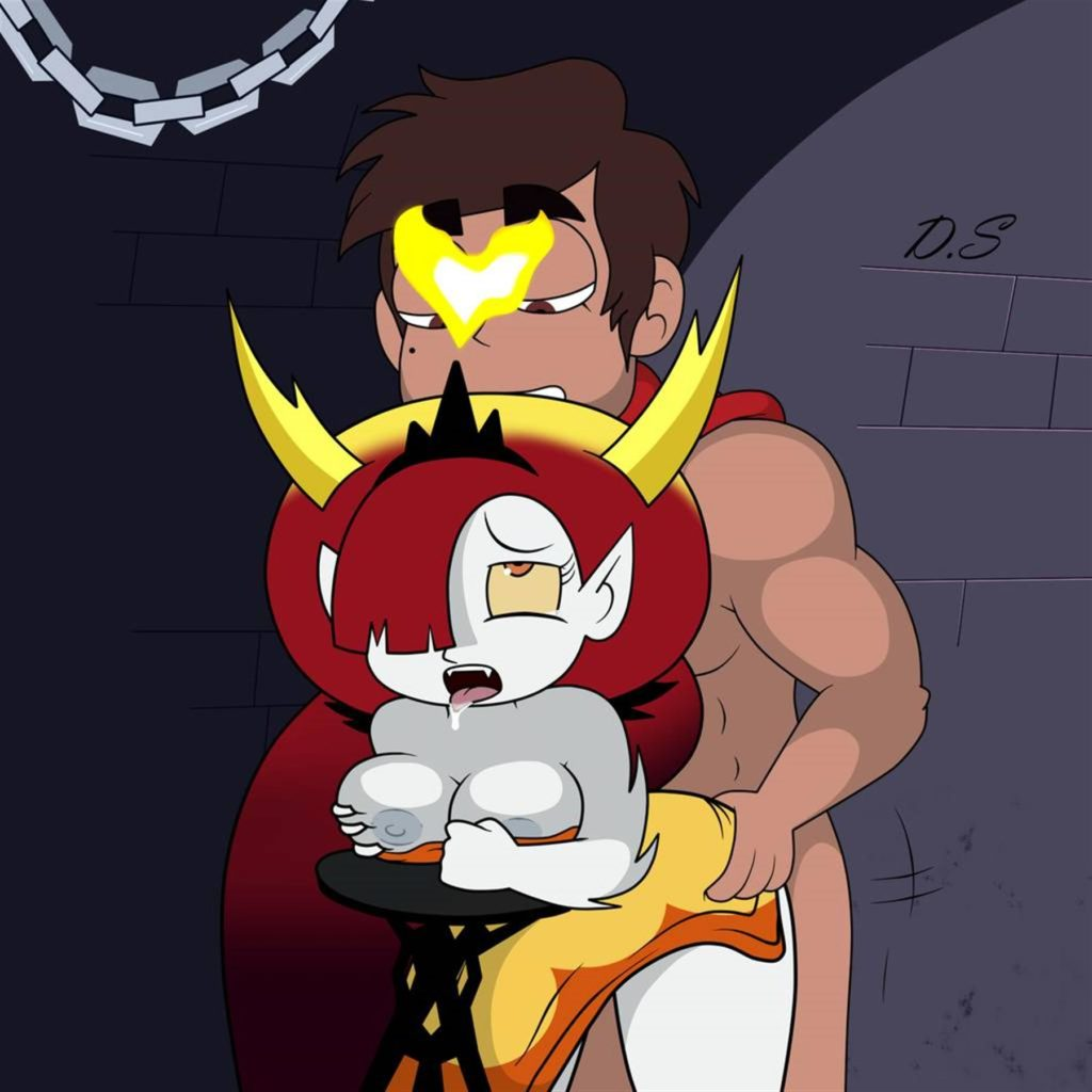 Marco fucking Hekapoo from behind