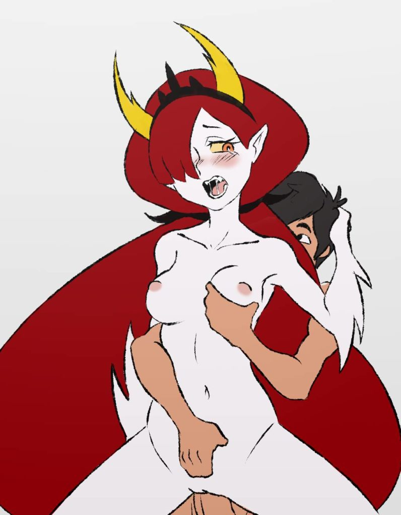 Hekapoo groped by Marco