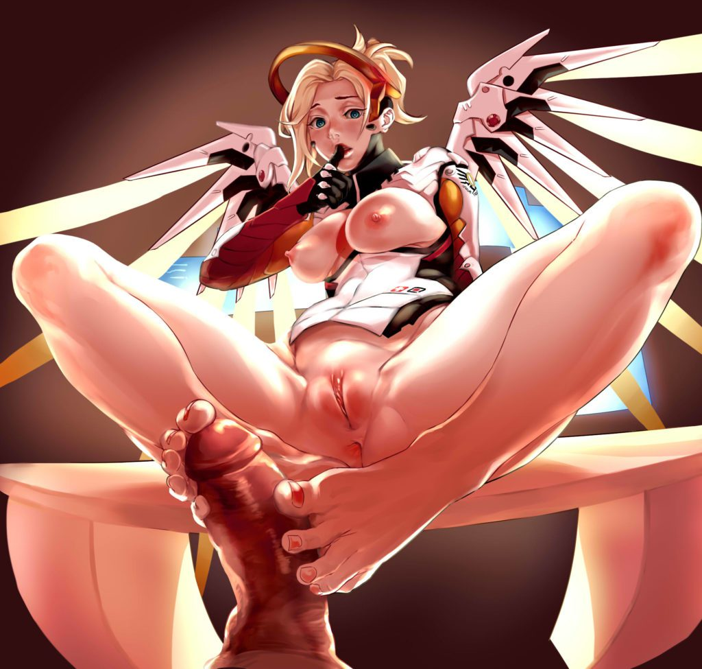 Mercys footjob