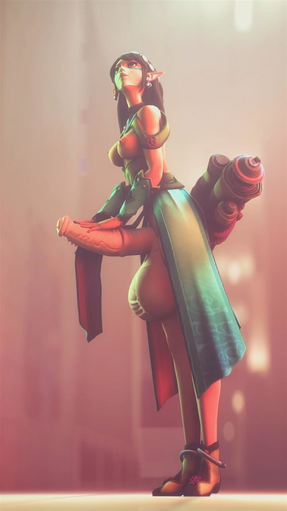 Ying has a big futa horsedick 3d