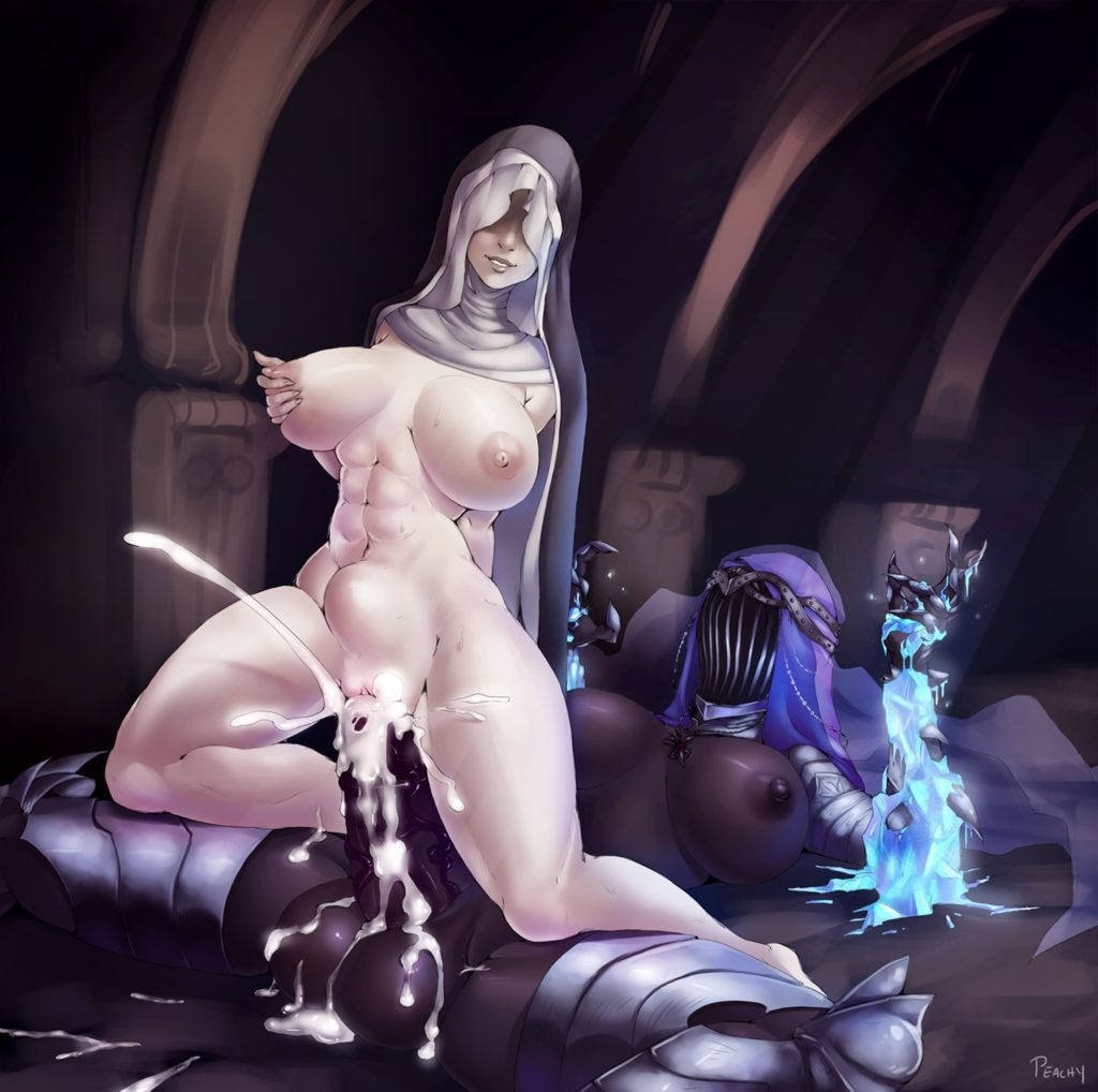 Futa Dancer cumming inside Sister Friede