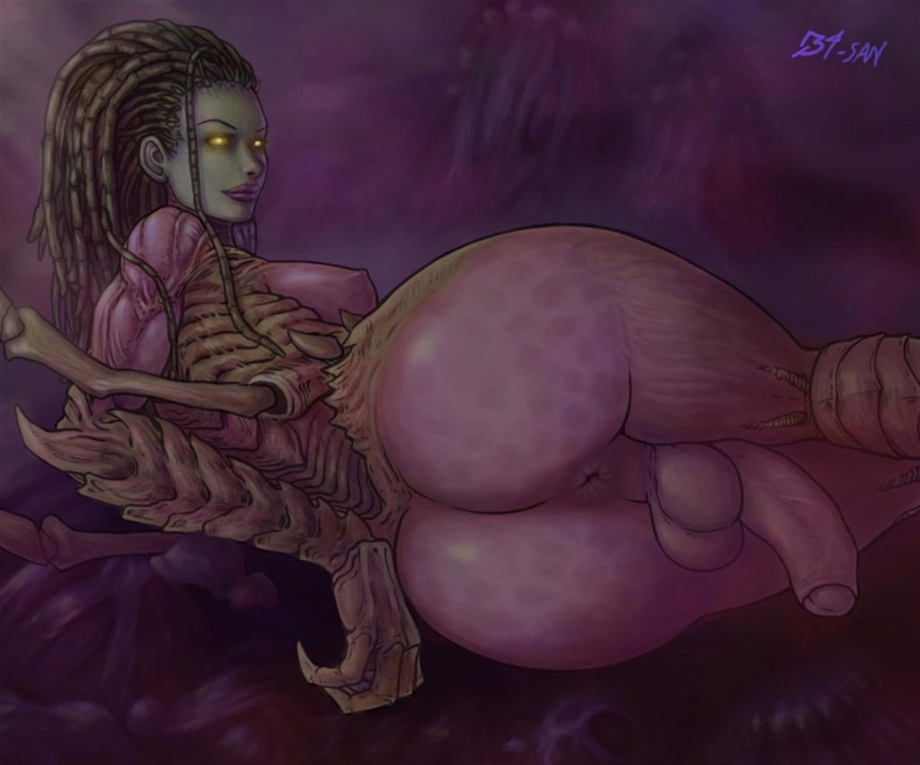 Futa Kerrigan with a big fat ass