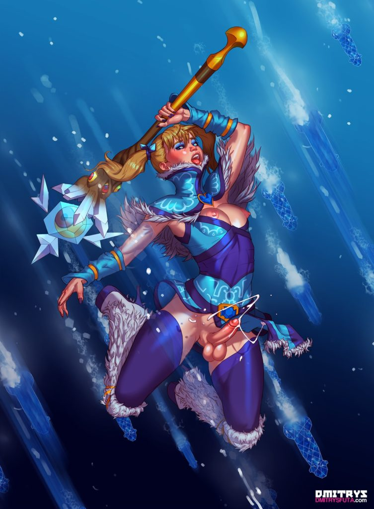 Futa Crystal Maiden cumming