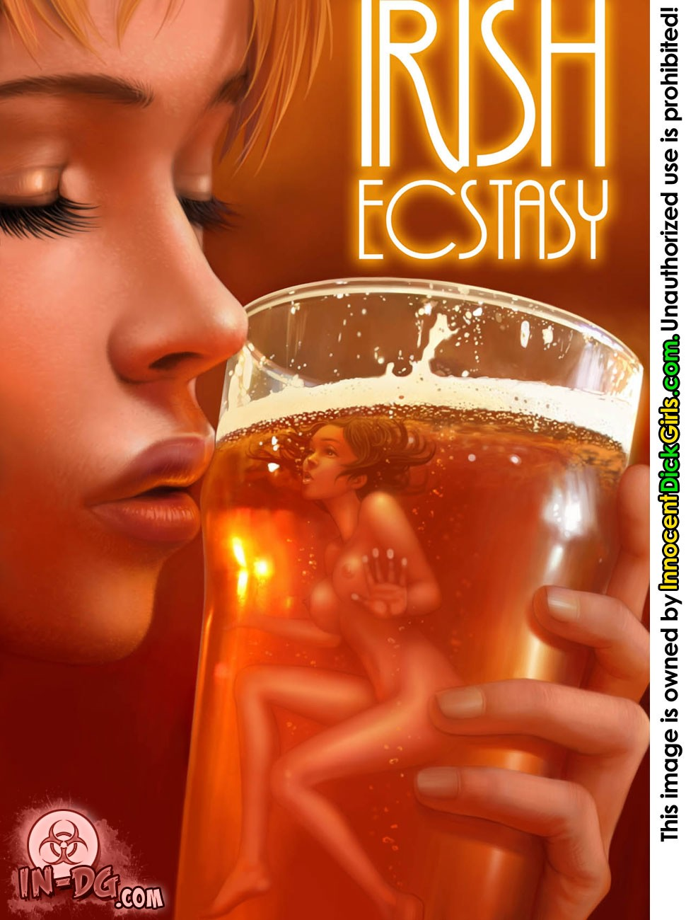 Irish Ecstasy futa comic cover