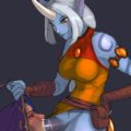 Futa Soraka fucking a male summoners mouth