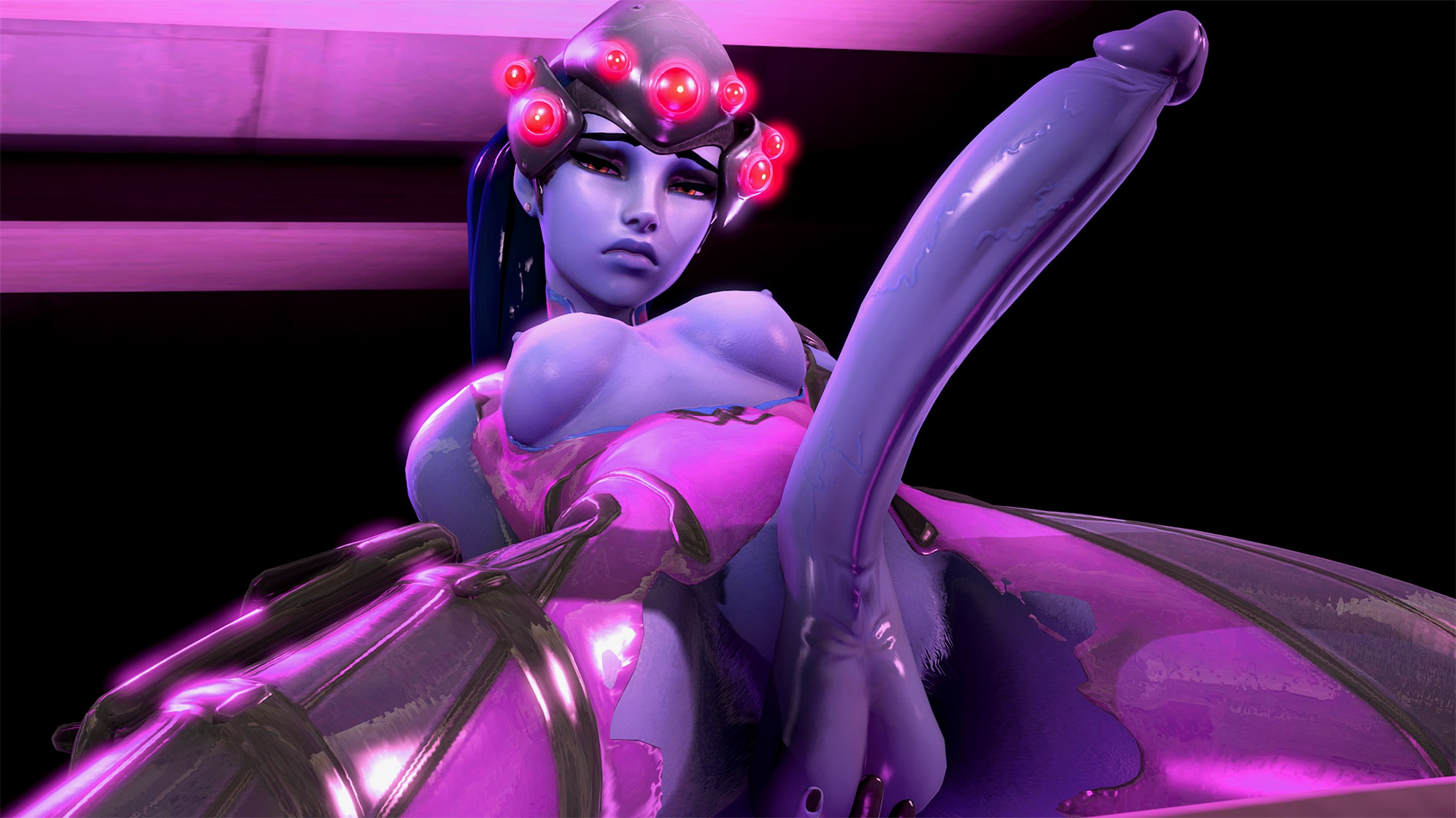 Overwatch Futa Widowmaker Hentai | Futapo!