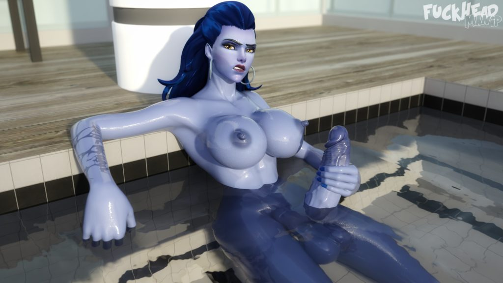 Fuckhead - Futa Widowmaker Overwatch porn cartoon rule 34 hentai nudes