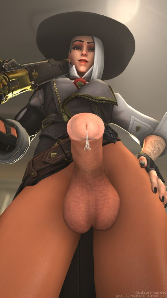 Justusernamesfm - Futa Ashe Overwatch porn cartoon rule 34 hentai nudes