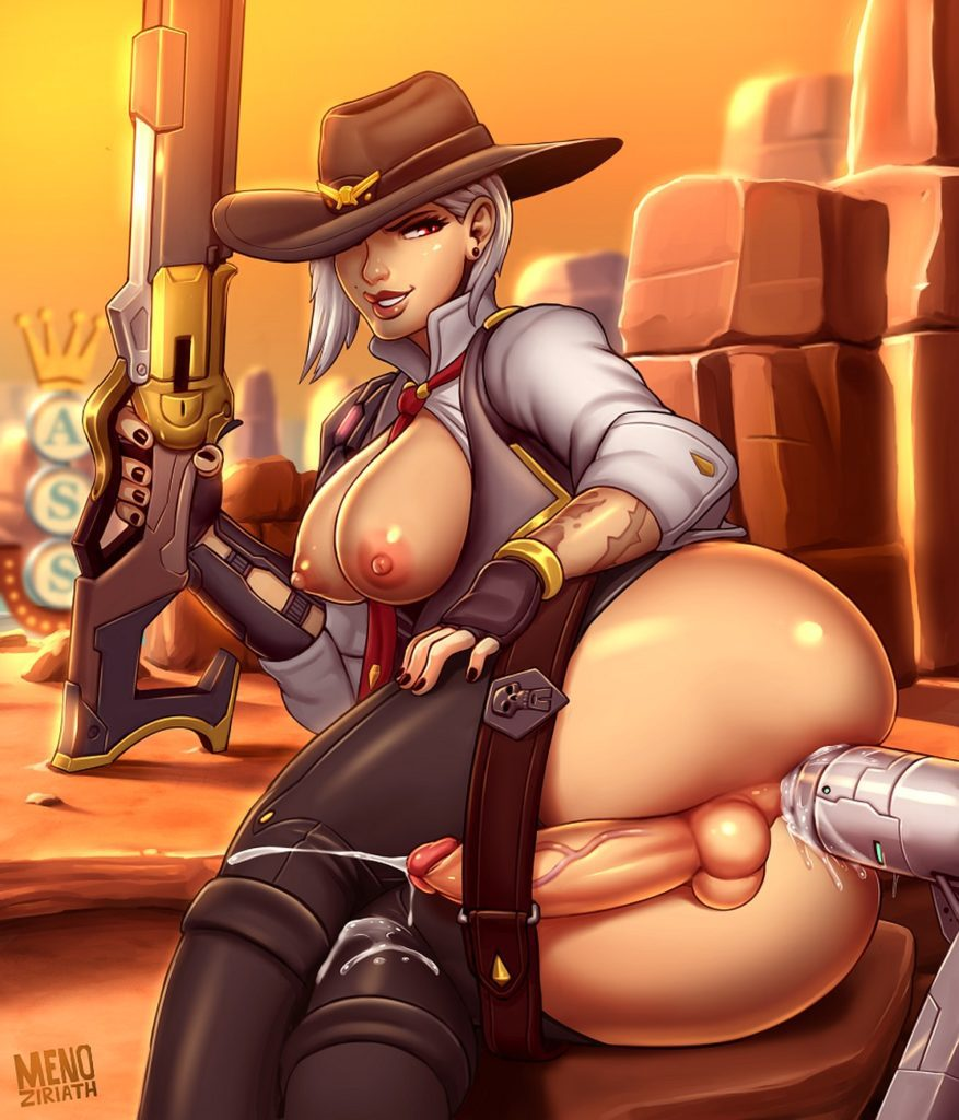 Menoziriath - Futa Ashe Overwatch porn cartoon rule 34 hentai nudes