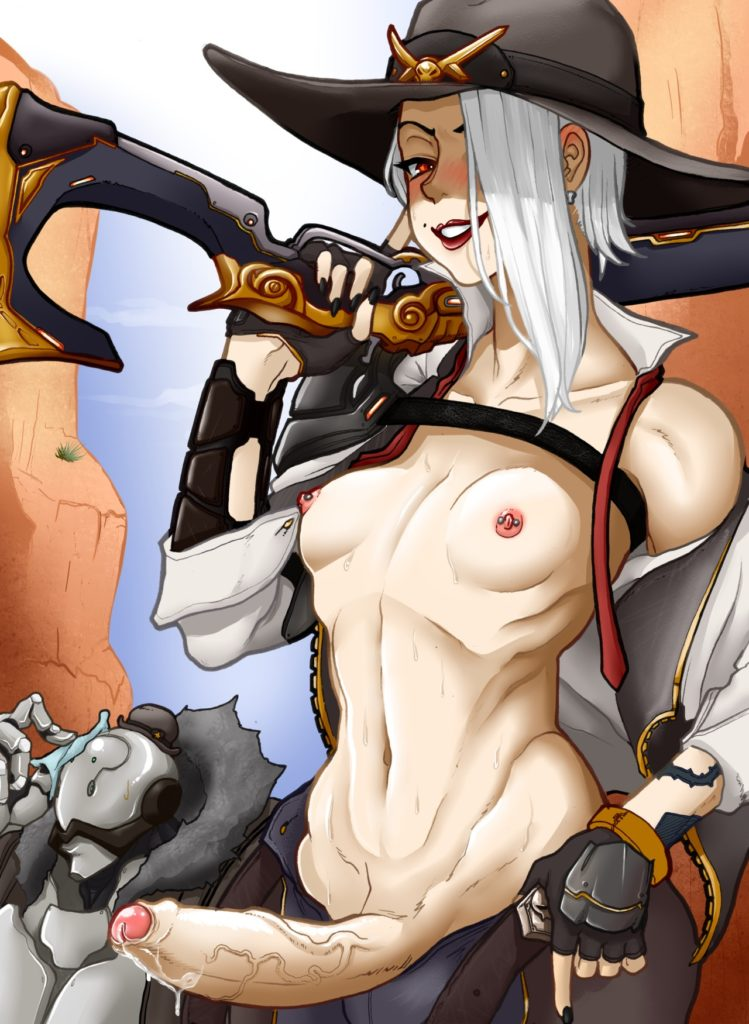 Tammaro - Futa Ashe Overwatch porn cartoon rule 34 hentai nudes