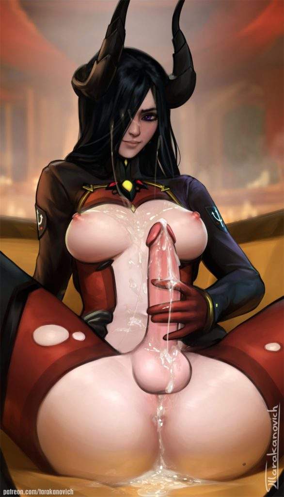 Tarakanovich - Futa Devil Mercy overwatch porn cartoon rule 34 hentai nudes