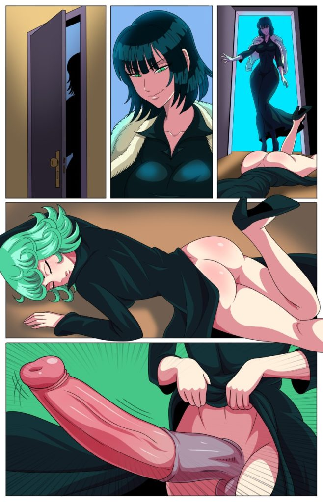 ArabatorArguraz - Futa Fubuki with a horsecock find her sleeping sister Tatsumaki One Punch Man hentai rule 34 porn