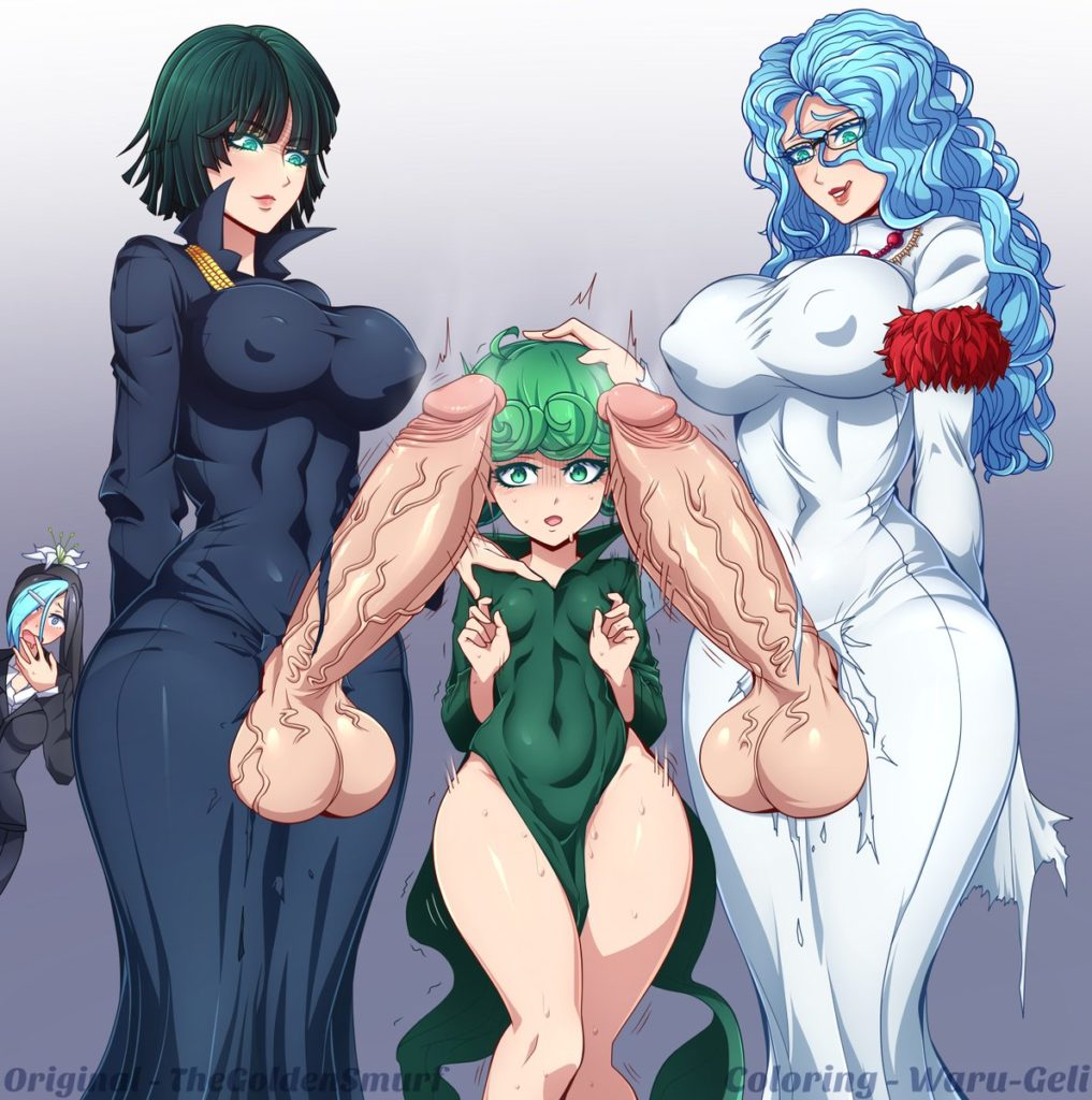 Thegoldensmurf - Futa Fubuki Tatsumaki and Spykos One Punch Man hentai rule 34 porn
