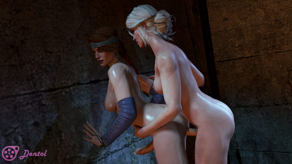 Dentol - Futa Ciri fucking Cerys an Craite The Witcher hentai 3d porn rule 34