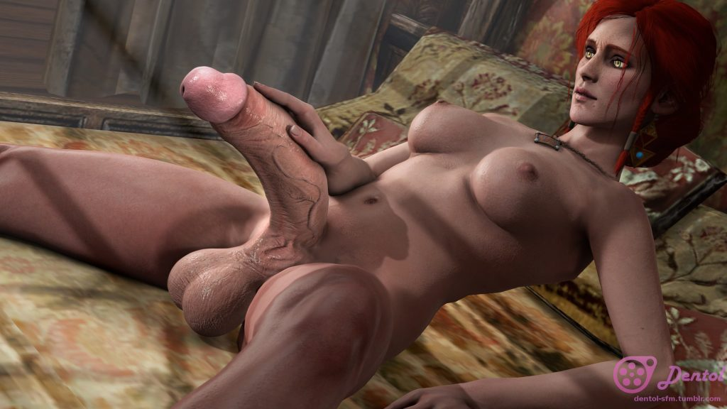 Dentol - Huge cock Triss Merigold The Witcher hentai 3d porn rule 34