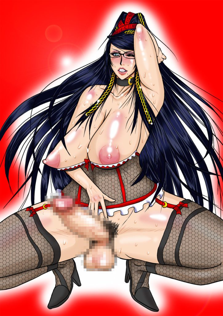 Serious Graphics futa Bayonetta and Jeanne hentai rule 34 porn