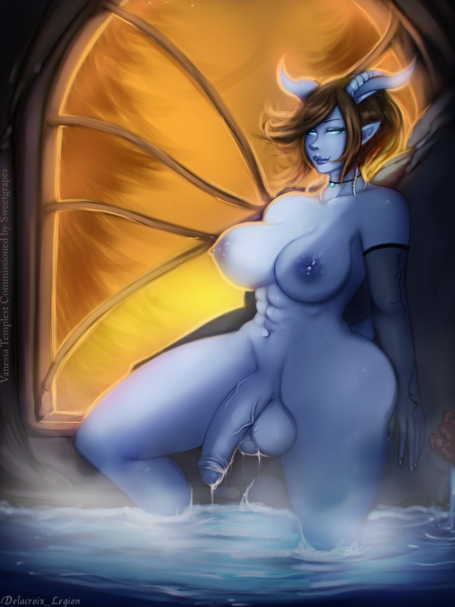 Delacroix Legion - Futanari draenei world of warcraft porn