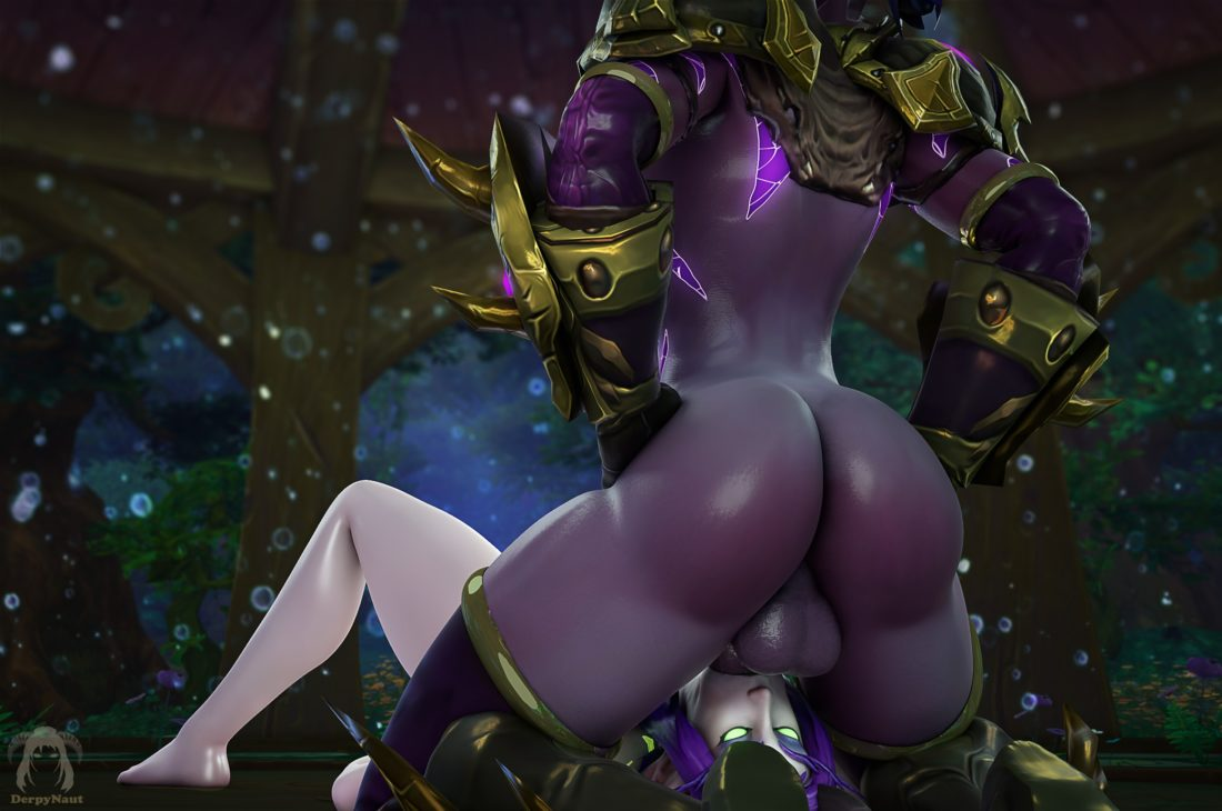 Derpynaut - Futa demon hunter night elf world of warcraft porn