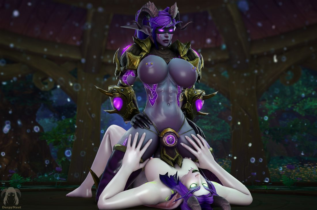 Derpynaut - Futa demon hunter night elf world of warcraft porn2