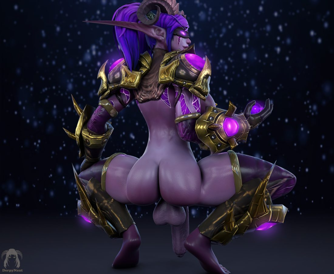 Derpynaut - Futa demon hunter night elf world of warcraft porn3