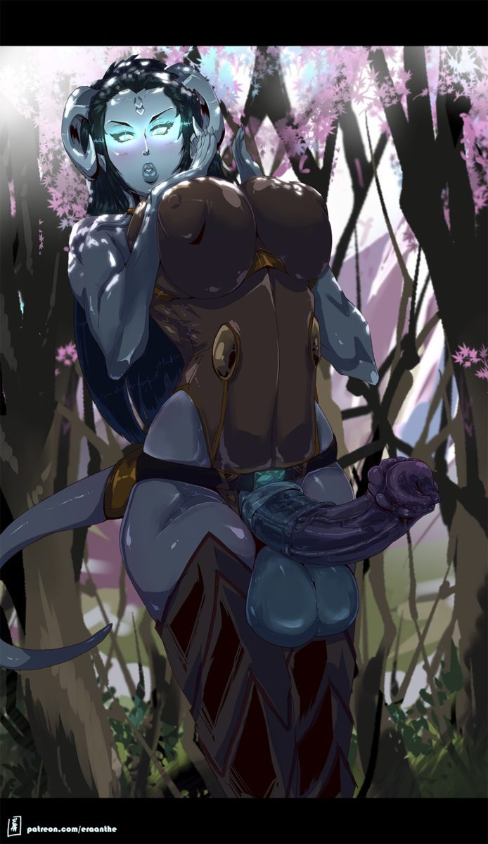 Eraanthe - Futa draenei horsecock world of warcraft porn