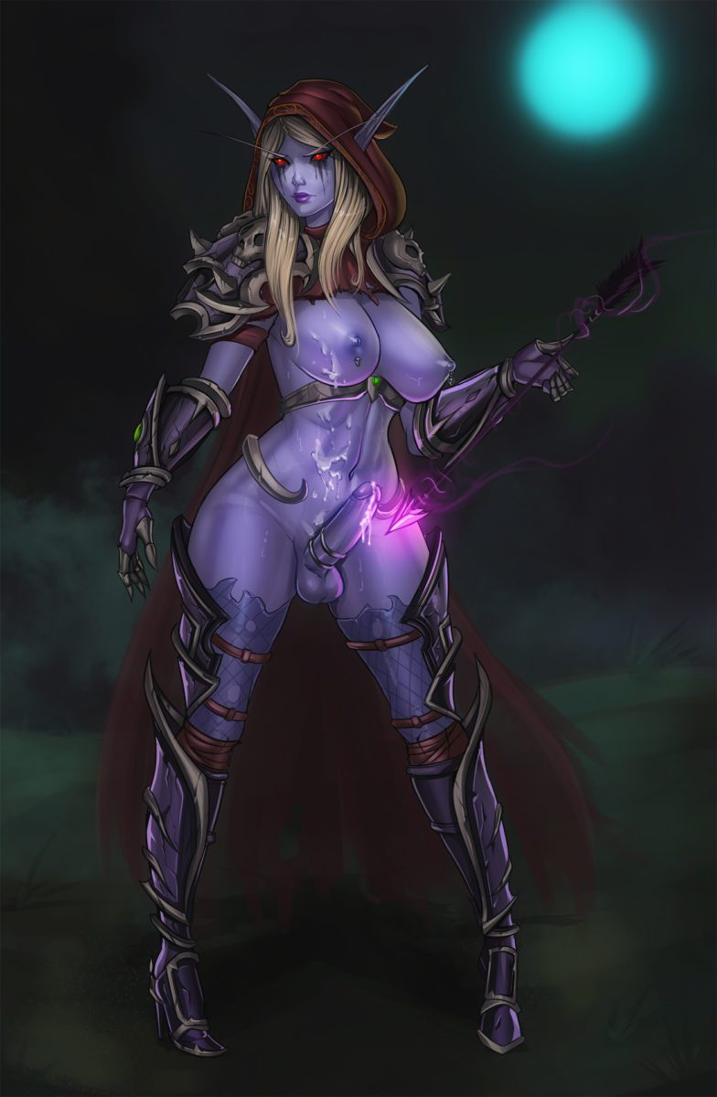 Freli - Futa Sylvanas Windrunner world of warcraft porn