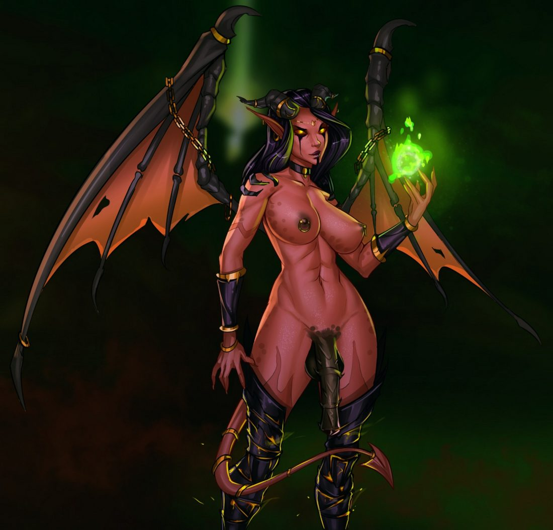 Freli - Futa Xazariel world of warcraft demon