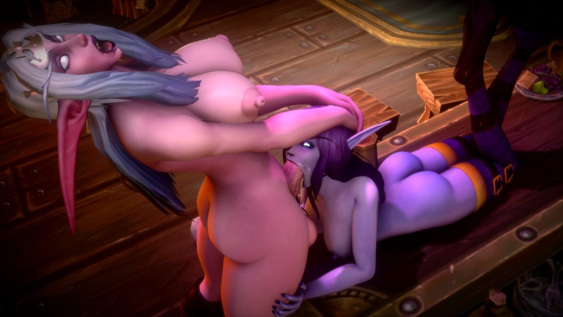 Jimahn - Futa alynisa night elf void elf wow