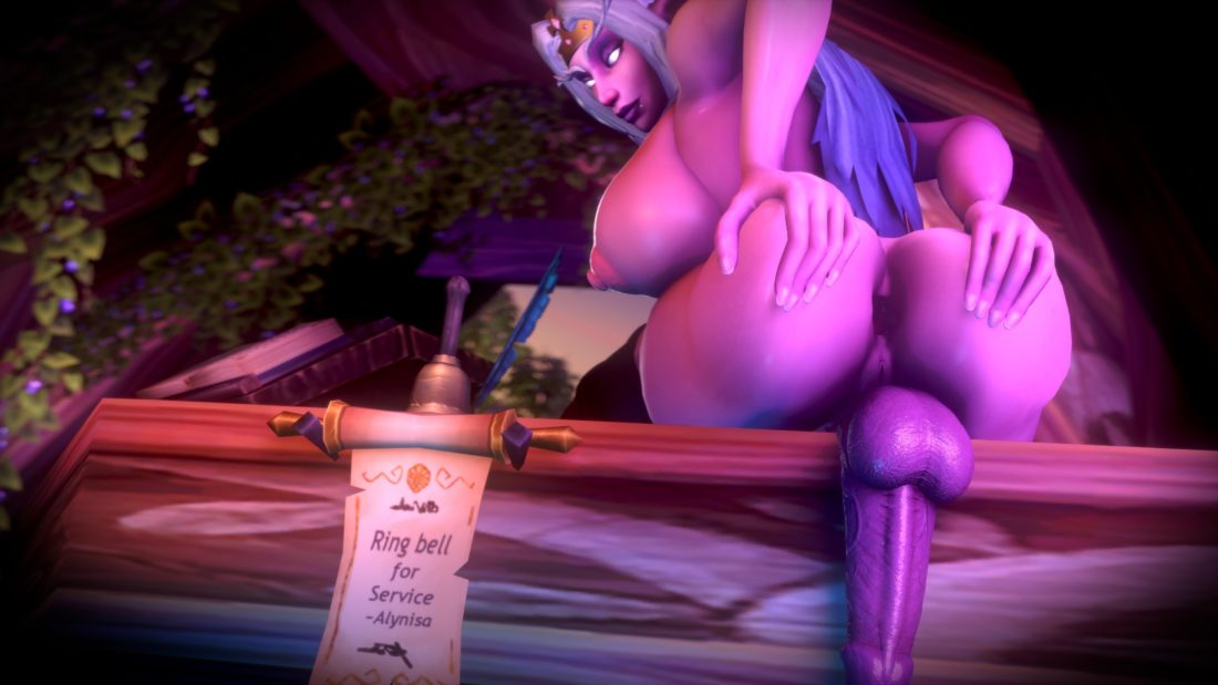 Jimahn - Futa alynisa night elf wow 2