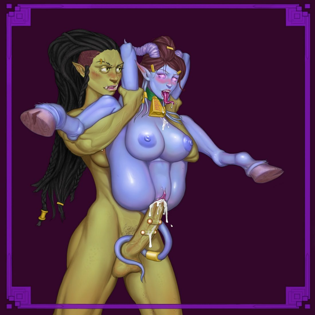 Knightofcydonia - Futa draenei world of warcraft