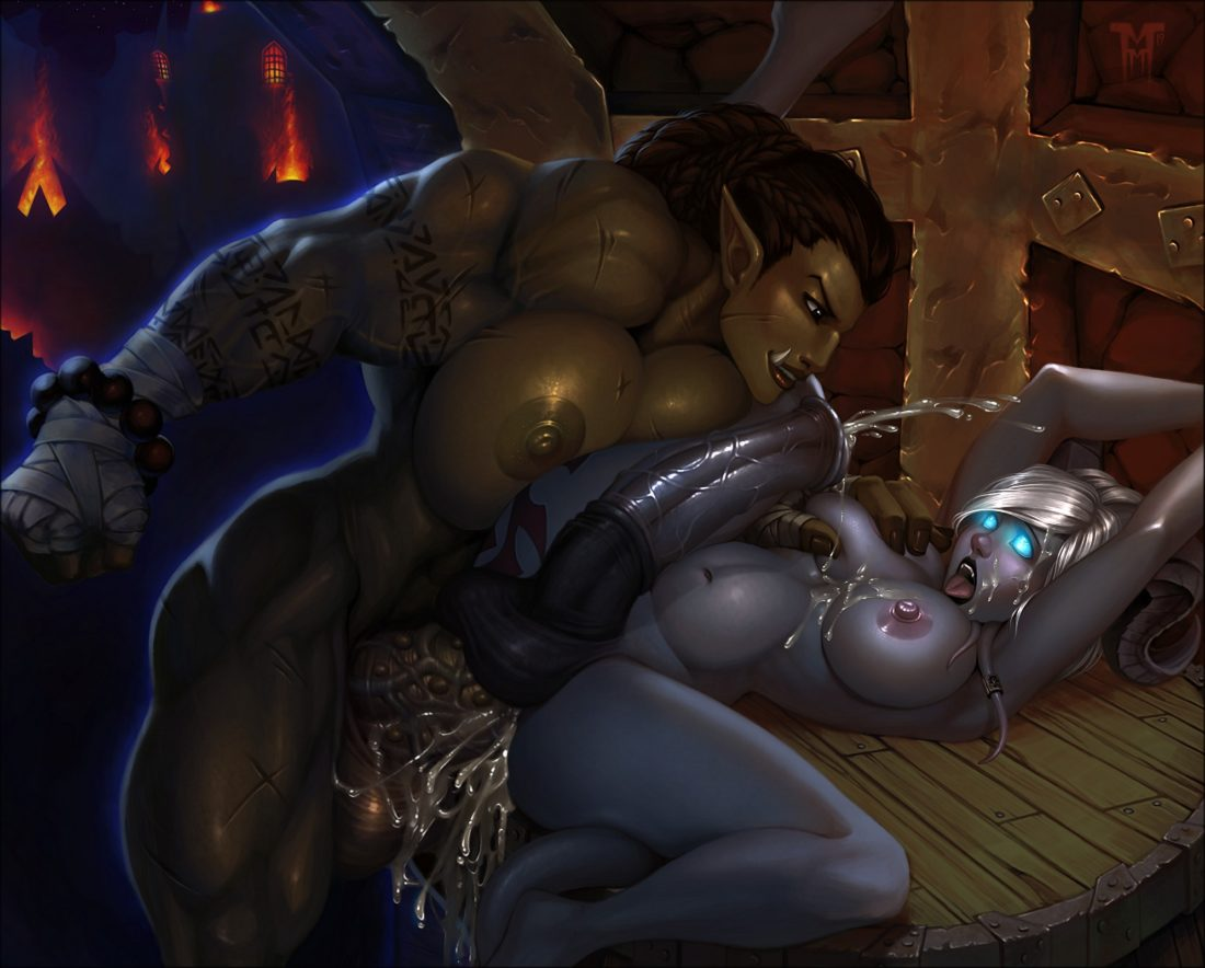 Mister-mediocre - Futa draenei world of warcraft muscular porn hentai rule 34