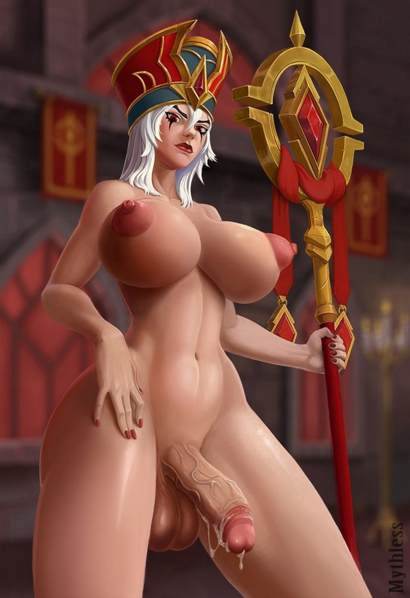 Mythless - Futanari Sally Whitemane wow 3