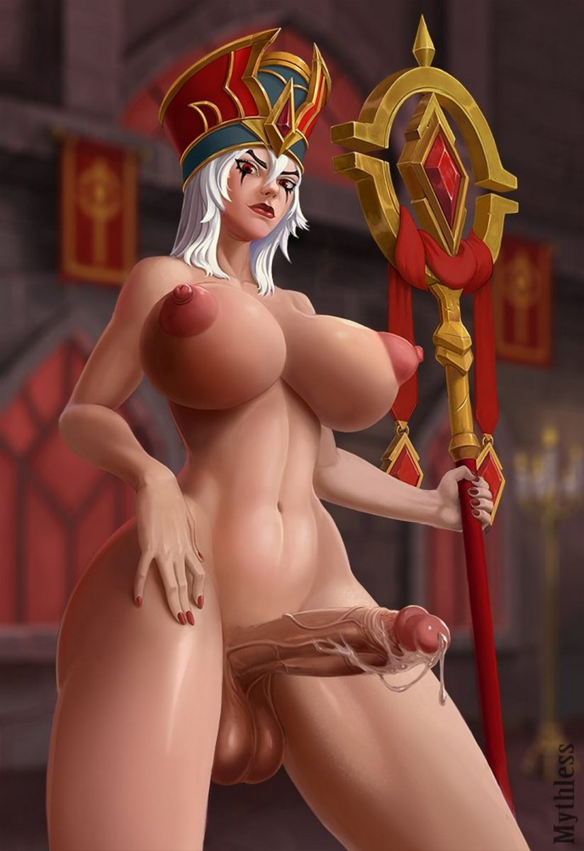 Mythless - Futanari Sally Whitemane wow