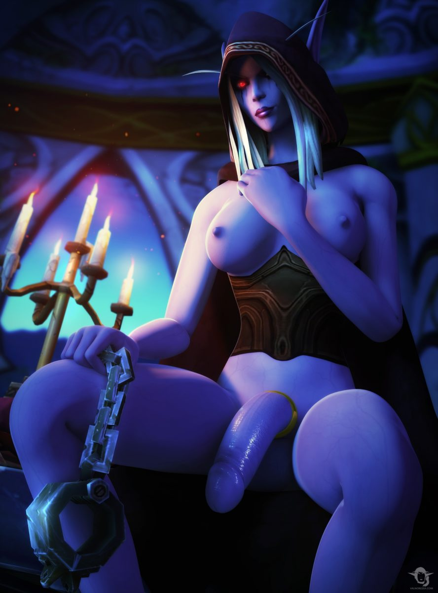 Vanoressa - Futa Sylvanas Windrunner world of warcraft