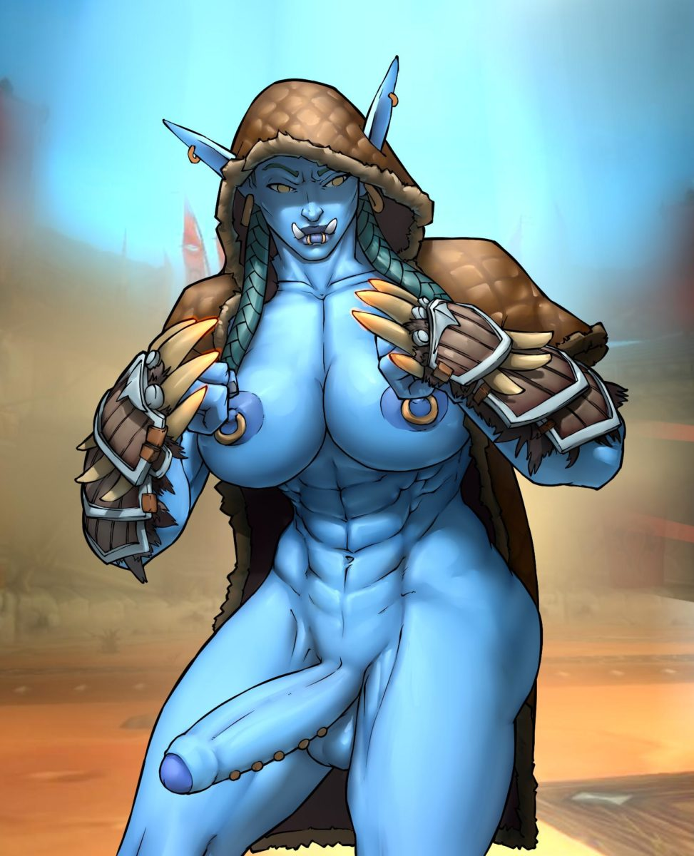 Wahafagart - Futa Troll world of warcraft muscular porn hentai rule 34